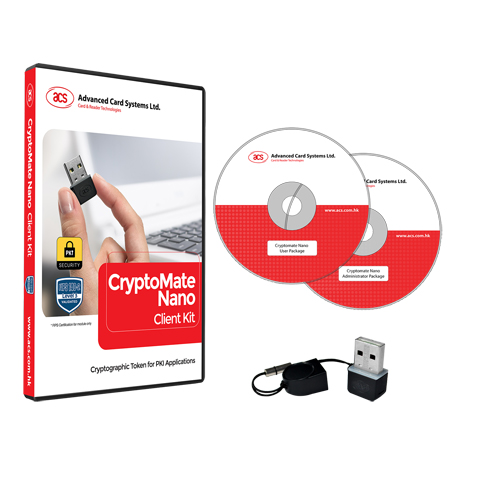 ACOS5 CryptoMate Nano Evaluation/Client Kit
