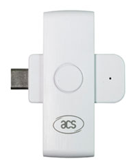 ACR39U-NF USB-C folding smartcard reader