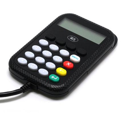 APG8201-B2 USB PINPad smartcard reader