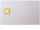 JavaCOS A22 dual interface Java card - 150K