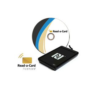 ACR1252 with Read-a-Card SAM license inside