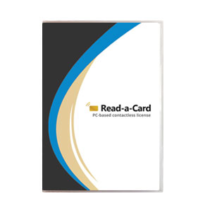 Read-a-Card software: PC-based license